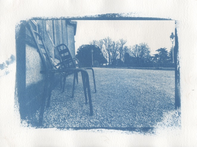 Cyanotype - Rennes_Au Thabor