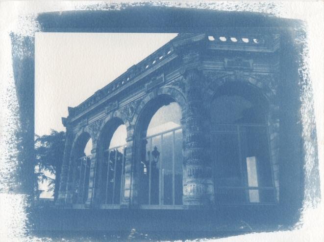 Cyanotype - Rennes_L'Orangerie