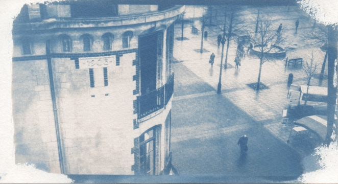 Cyanotype - Rennes_Place Hoche